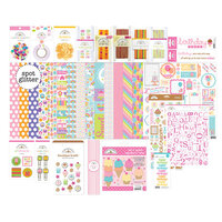 Doodlebug Design - Hey Cupcake Collection - Paper Plus Value Pack - Birthday Girl