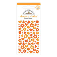 Doodlebug Design - Confetti Shape Sprinkles Collection - Tangerine