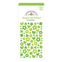 Doodlebug Design - Confetti Shape Sprinkles Collection - Limeade