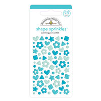 Doodlebug Design - Confetti Shape Sprinkles Collection - Swimming Pool