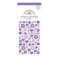 Doodlebug Design - Confetti Shape Sprinkles Collection - Lilac