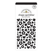 Doodlebug Design - Confetti Shape Sprinkles Collection - Beetle Black