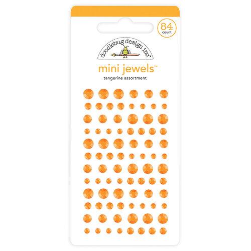 Doodlebug Design - Mini Jewels Collection - Tangerine