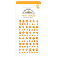 Doodlebug Design - Mini Jewels Collection - Tangerine