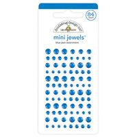 Doodlebug Design - Mini Jewels Collection - Blue Jean
