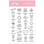 Doodlebug Design - All Occasion Collection - Clear Photopolymer Stamps - Holiday