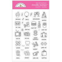 Doodlebug Design - All Occasion Collection - Clear Photopolymer Stamps - Everyday