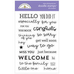 Doodlebug Design - All Occasion Collection - Clear Photopolymer Stamps - All Occasion