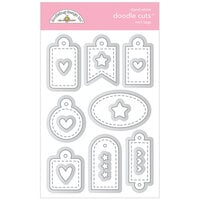 Doodlebug Design - All Occasion Collection - Doodle Cuts Dies - Mini Tags