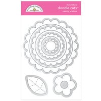 Doodlebug Design - All Occasion Collection - Doodle Cuts Dies - Nesting Scallops