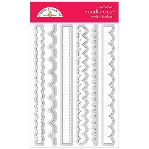 Doodlebug Design - All Occasion Collection - Doodle Cuts Dies - Borders and Edges