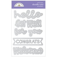Doodlebug Design - All Occasion Collection - Doodle Cuts Dies - All Occasion