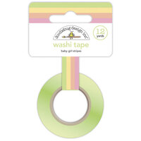 Doodlebug Design - Bundle of Joy Collection - Washi Tape - Baby Girl Stripes