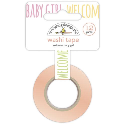 Doodlebug Design - Bundle of Joy Collection - Washi Tape - Welcome Baby Girl