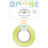 Doodlebug Design - Special Delivery Collection - Washi Tape - Baby Boy Blocks