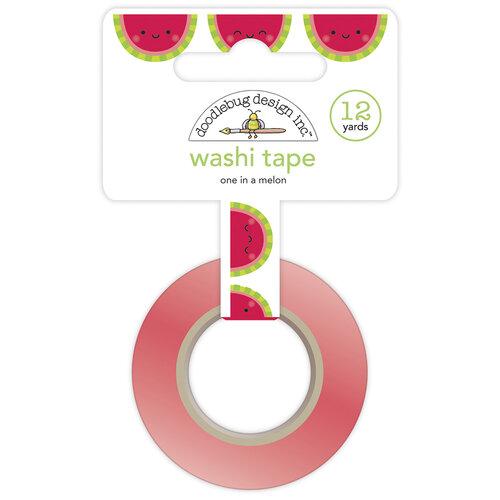 Doodlebug Design - Bar-B-Cute Collection - Washi Tape - One In A Melon