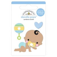 Doodlebug Design - Special Delivery Collection - Doodle-Pops - 3 Dimensional Cardstock Stickers - On The Move
