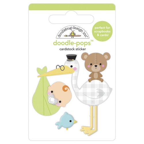 Doodlebug Design - Special Delivery Collection - Doodle-Pops - 3 Dimensional Cardstock Stickers - Special Delivery