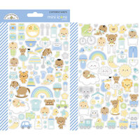 Doodlebug Design - Special Delivery Collection - Cardstock Stickers - Mini Icons