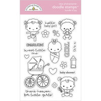 Doodlebug Design - Bundle of Joy Collection - Clear Photopolymer Stamps