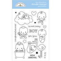 Doodlebug Designs - Special Delivery Collection - Clear Photopolymer Stamps