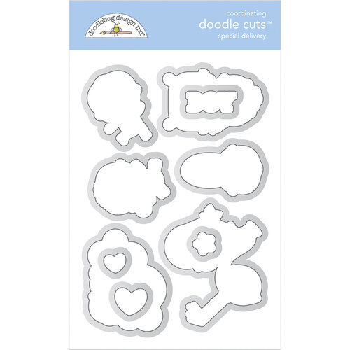 Doodlebug Design - Special Delivery Collection - Doodle Cuts Dies