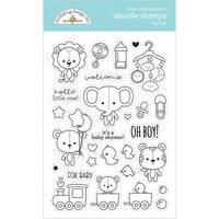 Doodlebug Design - Special Delivery Collection - Clear Photopolymer Stamps - Toy Box