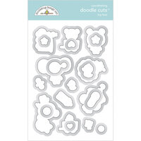 Doodlebug Designs - Special Delivery Collection - Doodle Cuts Dies - Toy Box