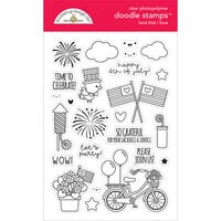 Doodlebug Design - Land That I Love Collection - Clear Photopolymer Stamps