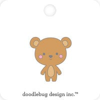 Doodlebug Design - Special Delivery Collection - Collectible Pins - Baby Bear