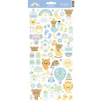 Doodlebug Design - Special Delivery Collection - Cardstock Stickers - Icons