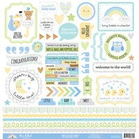 Doodlebug Design - Special Delivery Collection - 12 x 12 Cardstock Stickers - This and That