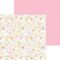 Doodlebug Design - Bundle of Joy Collection - 12 x 12 Double Sided Paper - Bundle Of Joy