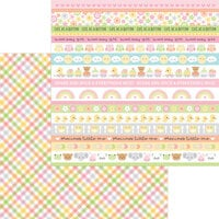Doodlebug Design - Bundle of Joy Collection - 12 x 12 Double Sided Paper - Blankie