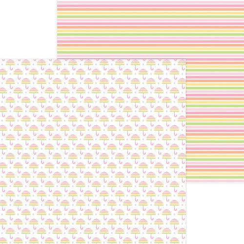 Doodlebug Design - Bundle of Joy Collection - 12 x 12 Double Sided Paper - Baby Shower