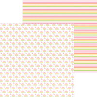 Doodlebug Design - Bundle of Joy Collection - 12 x 12 Double Sided Paper - Baby Shower