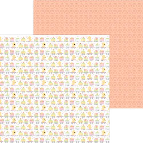 Doodlebug Design - Bundle of Joy Collection - 12 x 12 Double Sided Paper - Animal Quackers