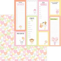 Doodlebug Design - Bundle of Joy Collection - 12 x 12 Double Sided Paper - Showered With Love