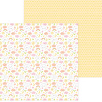 Doodlebug Design - Bundle of Joy Collection - 12 x 12 Double Sided Paper - Sweet Dreams