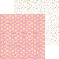 Doodlebug Design - Bundle of Joy Collection - 12 x 12 Double Sided Paper - Baby Girl