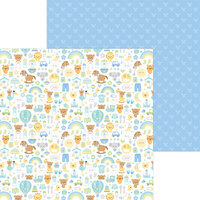 Doodlebug Design - Special Delivery Collection - 12 x 12 Double Sided Paper - Special Delivery