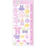 Doodlebug Design - Cardstock Stickers - Baby Girl