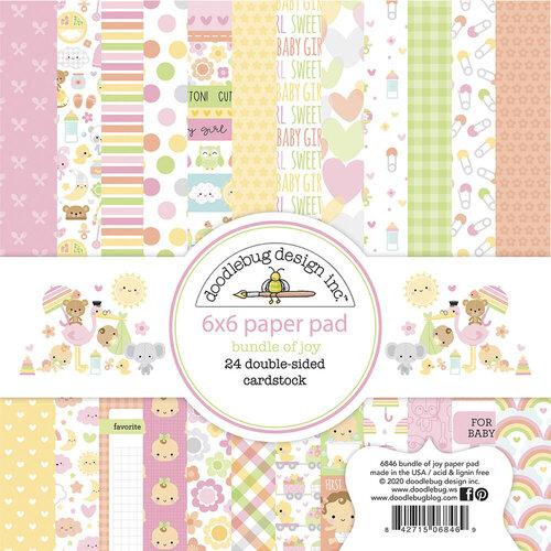 Doodlebug Design - Bundle of Joy Collection - 6 x 6 Paper Pad