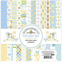 Doodlebug Design - Special Delivery Collection - 6 x 6 Paper Pad