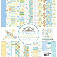 Doodlebug Designs - Special Delivery Collection - 12 x 12 Paper Pack