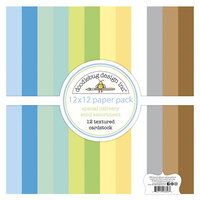 Doodlebug Design - Special Delivery Collection - Textured Cardstock Assortment Pack