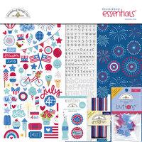 Doodlebug Designs - Land That I Love Collection - Essentials Kit
