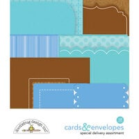 Doodlebug Design - Special Delivery Collection - Cards and Envelopes