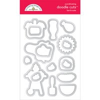 Doodlebug Design - Bar-B-Cute Collection - Doodle Cuts Dies