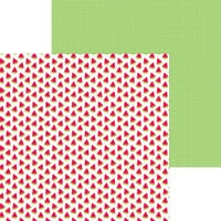 Doodlebug Designs - Bar-B-Cute Collection - 12 x 12 Double Sided Paper - Slice Of Summer
